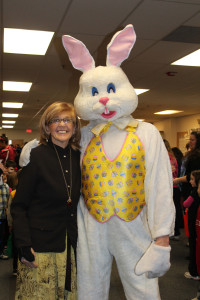Diane and Easter Bunny (2)